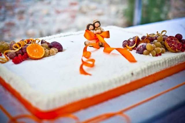 Torta sposi Thun